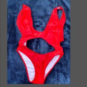 Sexy monokini bathing suit
